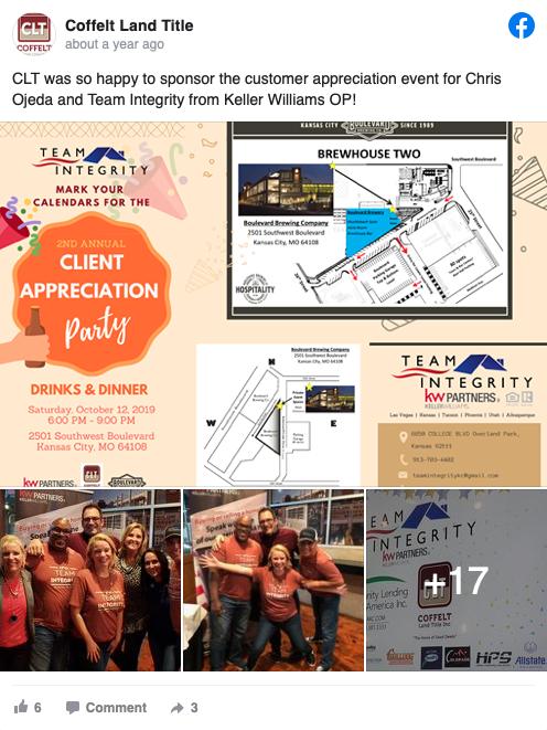 CLT was so happy to sponsor the customer appreciation event