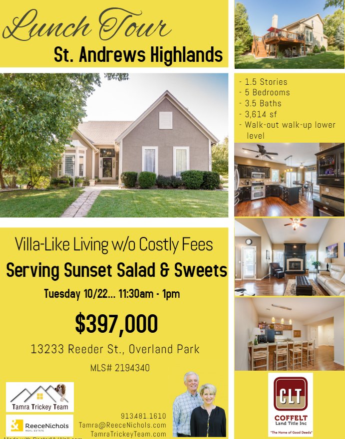 Lunch Tour St. Andrews Highlands